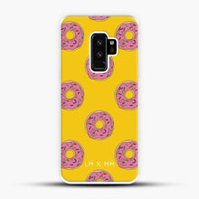 Load image into Gallery viewer, Donut Worry Be Happy Samsung Galaxy S9 Plus Case