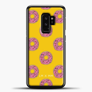 Donut Worry Be Happy Samsung Galaxy S9 Plus Case