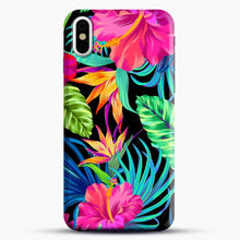 Load image into Gallery viewer, Drive You Mad Hibiscus Pattern iPhone Case| Plastic, Snap 3D, & Rubber | joeyellow.com
