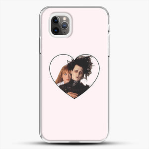 Edward And Kim iPhone 11 Pro Max Case, White Plastic Case | JoeYellow.com