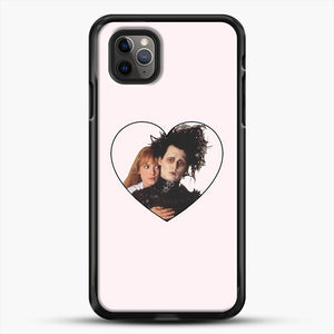 Edward And Kim iPhone 11 Pro Max Case, Black Rubber Case | JoeYellow.com