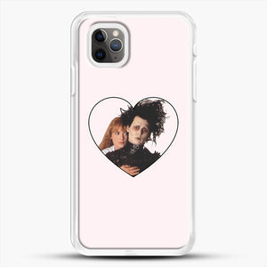 Edward And Kim iPhone 11 Pro Max Case, White Rubber Case | JoeYellow.com