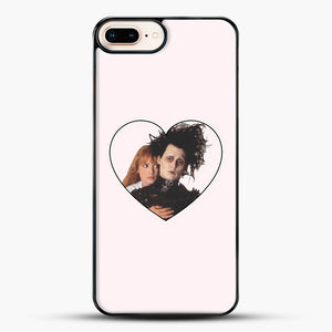 Edward And Kim iPhone 8 Plus Case, Black Plastic Case | JoeYellow.com