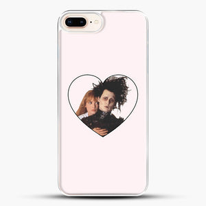Edward And Kim iPhone 8 Plus Case, White Plastic Case | JoeYellow.com