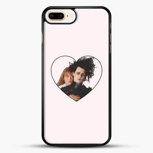 Edward And Kim iPhone 8 Plus Case, Black Rubber Case | JoeYellow.com