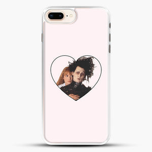 Edward And Kim iPhone 8 Plus Case, White Rubber Case | JoeYellow.com