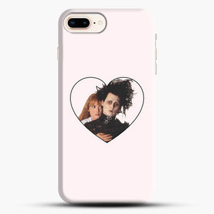 Edward And Kim iPhone 8 Plus Case, Black Snap 3D Case | JoeYellow.com