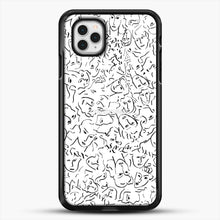 Load image into Gallery viewer, Elios Face Shirt Call Me By Your Name iPhone 11 Pro Case, Black Rubber Case | JoeYellow.com