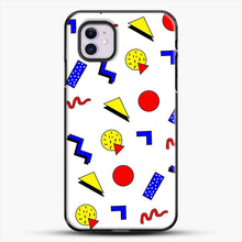 Load image into Gallery viewer, Emma Chamberlain Inspired Design iPhone 11 Case, Black Plastic Case | JoeYellow.com