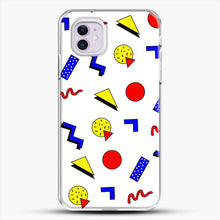 Load image into Gallery viewer, Emma Chamberlain Inspired Design iPhone 11 Case, White Plastic Case | JoeYellow.com