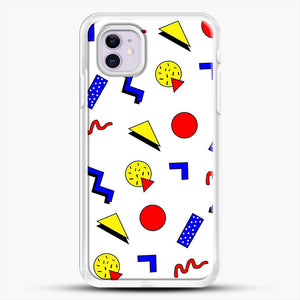 Emma Chamberlain Inspired Design iPhone 11 Case, White Rubber Case | JoeYellow.com