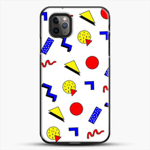 Load image into Gallery viewer, Emma Chamberlain Inspired Design iPhone 11 Pro Max Case, Black Plastic Case | JoeYellow.com