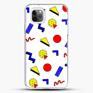 Emma Chamberlain Inspired Design iPhone 11 Pro Max Case, White Plastic Case | JoeYellow.com
