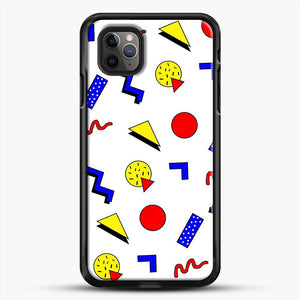 Emma Chamberlain Inspired Design iPhone 11 Pro Max Case, Black Rubber Case | JoeYellow.com
