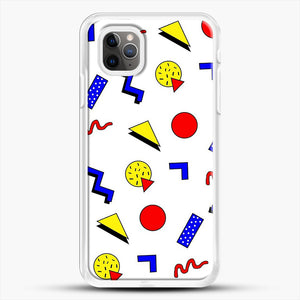 Emma Chamberlain Inspired Design iPhone 11 Pro Max Case, White Rubber Case | JoeYellow.com