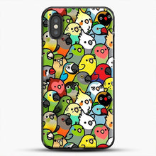 Load image into Gallery viewer, Everybirdy Pattern iPhone XS Case