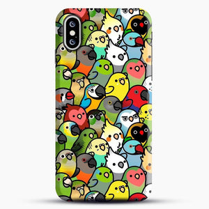 Everybirdy Pattern iPhone XS Case