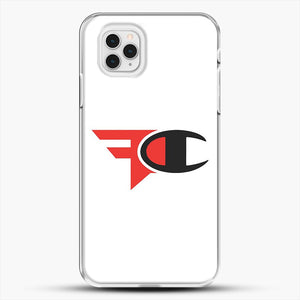 Faze Clan Merch iPhone 11 Pro Case, White Plastic Case | JoeYellow.com