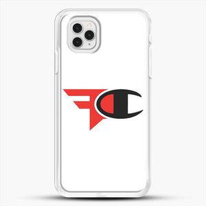 Faze Clan Merch iPhone 11 Pro Case, White Rubber Case | JoeYellow.com