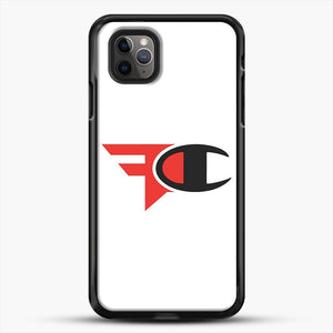 Faze Clan Merch iPhone 11 Pro Max Case, Black Rubber Case | JoeYellow.com