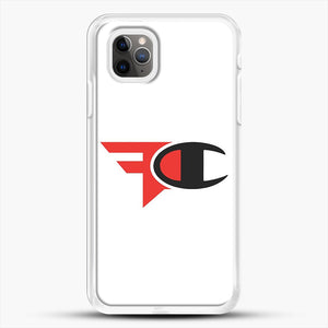 Faze Clan Merch iPhone 11 Pro Max Case, White Rubber Case | JoeYellow.com