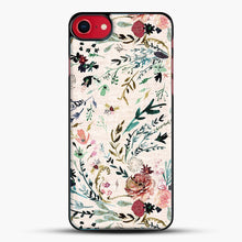 Load image into Gallery viewer, Fable Floral iPhone 8 Case, Black Plastic Case | JoeYellow.com