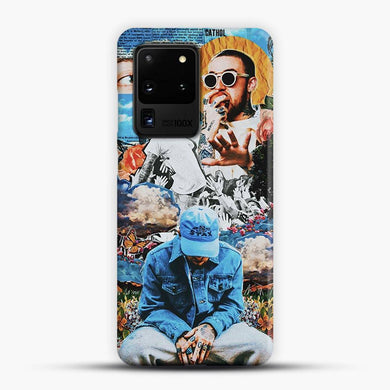 Faces Mac Miller Circles Samsung Galaxy S20 Ultra Case, Snap 3D Case | JoeYellow.com
