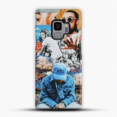 Faces Mac Miller Circles Samsung Galaxy S9 Case, Snap 3D Case | JoeYellow.com