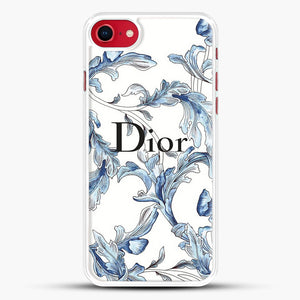 Fashion Design iPhone 8 Case, White Rubber Case | JoeYellow.com