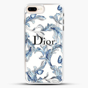 Fashion Design iPhone 8 Plus Case, White Rubber Case | JoeYellow.com