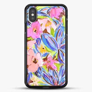 Flaunting Floral Apricot iPhone Case