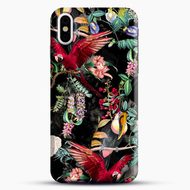 Floral And Birds iPhone Case| Plastic, Snap 3D, & Rubber | joeyellow.com