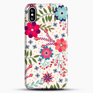 Floral Dance Is Beautifull iPhone XS Case