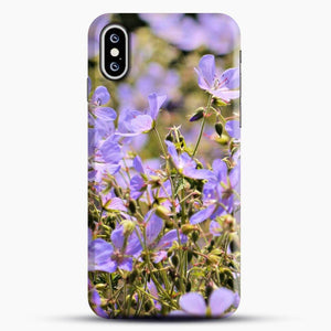 Floral Dance Purple Image iPhone XS Case