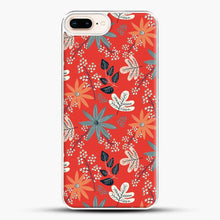 Load image into Gallery viewer, Floral Dance Red Background iPhone 7 Plus Case