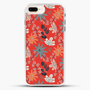 Floral Dance Red Background iPhone 7 Plus Case
