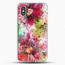 Load image into Gallery viewer, Floral Dance Watercolor iPhone XS Case
