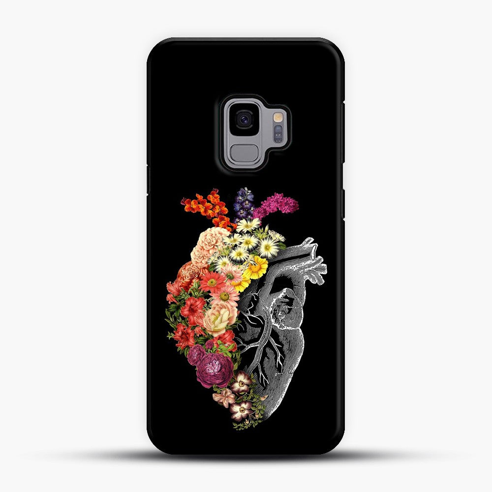 Flower Heart Spring Samsung Galaxy S9 Case
