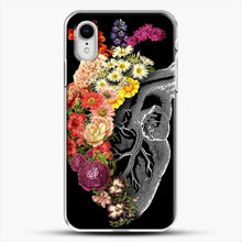 Load image into Gallery viewer, Flower Heart Spring iPhone XR Case, White Plastic Case | JoeYellow.com