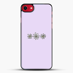 Flower Tumblr iPhone 8 Case, Black Plastic Case | JoeYellow.com