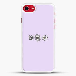 Flower Tumblr iPhone 8 Case, White Rubber Case | JoeYellow.com