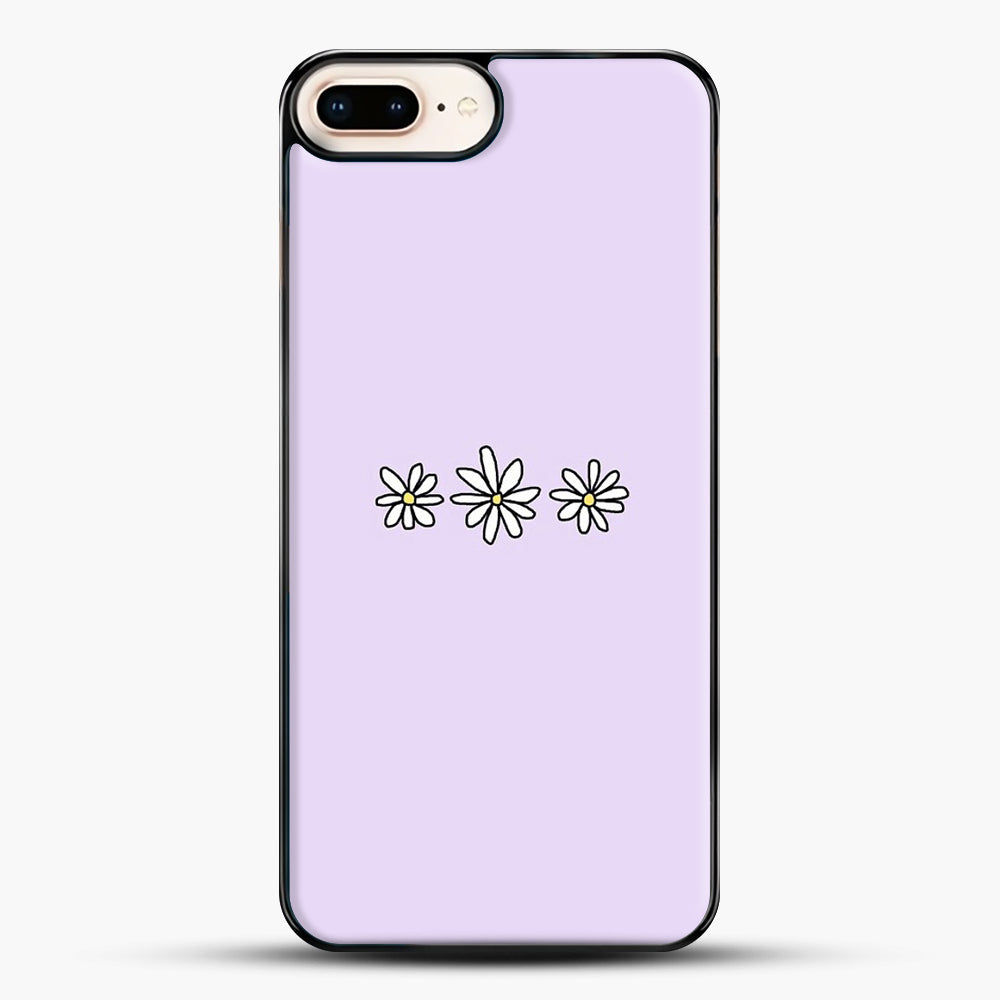 Flower Tumblr iPhone 8 Plus Case, Black Plastic Case | JoeYellow.com