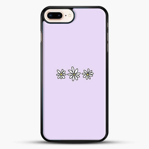 Flower Tumblr iPhone 8 Plus Case, Black Rubber Case | JoeYellow.com