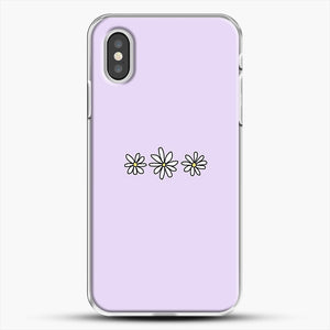 Flower Tumblr iPhone XS Case, White Plastic Case | JoeYellow.com