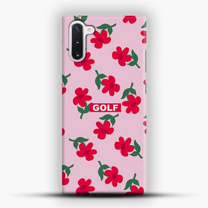 Flowers GOLF Tyler The Creator Samsung Galaxy Note 10 Case