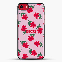 Load image into Gallery viewer, Flowers Golf Tyler The Creator iPhone 8 Case, Black Plastic Case | JoeYellow.com