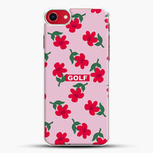 Load image into Gallery viewer, Flowers Golf Tyler The Creator iPhone 8 Case, White Plastic Case | JoeYellow.com