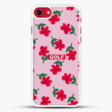 Load image into Gallery viewer, Flowers Golf Tyler The Creator iPhone 8 Case, White Rubber Case | JoeYellow.com