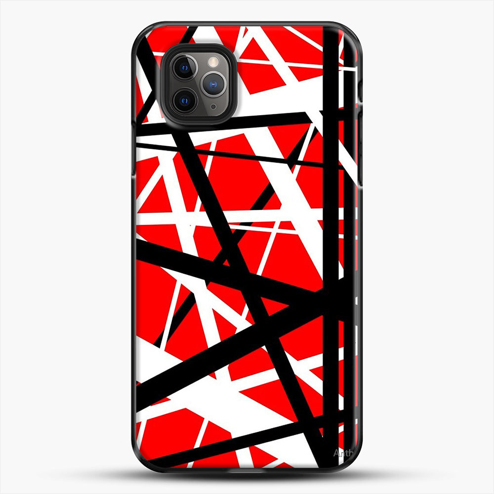 Frankenstein Pattern iPhone 11 Pro Max Case, Black Plastic Case | JoeYellow.com