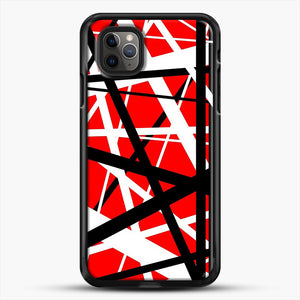 Frankenstein Pattern iPhone 11 Pro Max Case, Black Rubber Case | JoeYellow.com